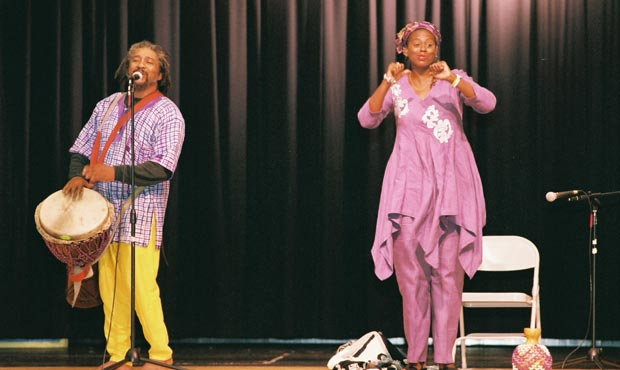 Griots in Concert by Linda Humes | Young Audiences New Jersey