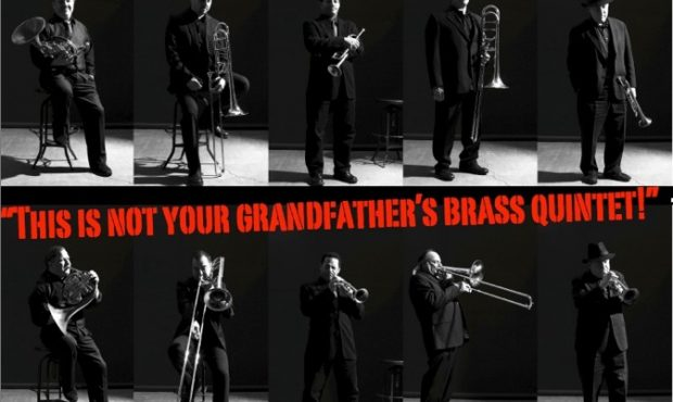 Blast off with Brass by Manhattan Brass Quintet