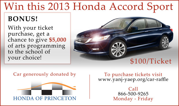 creating hope with honda car raffle to support young audiences