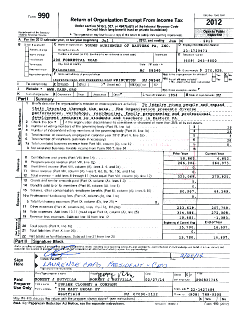 FY13 PA 990 form cover