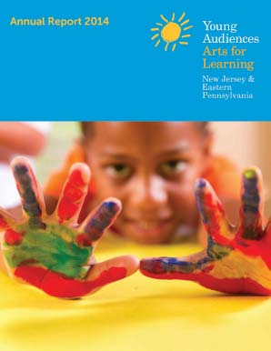 Cover of Young Audiences New Jersey and Eastern Pennsylvania FY14 Annual Report