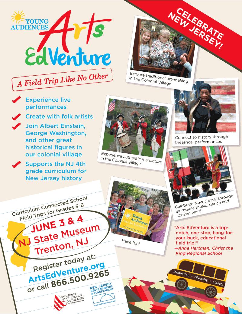 Arts Edventure 2015 Flyer Full Size Image