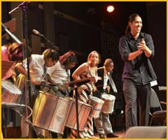Brazilian Group Drumming Image