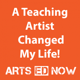 teaching artist AEN