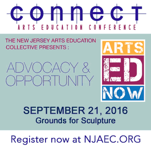 Connect Arts Education Conference 2016 ad