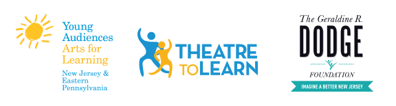 Dodge, Theatre to Learn, and YA logos