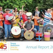 Cover im age of Young Audiences Annual Report 2017