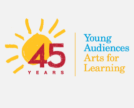 Young Audiences 45th Year Logo