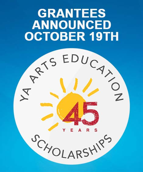 Ad for Arts Education Grants Announced October 19th